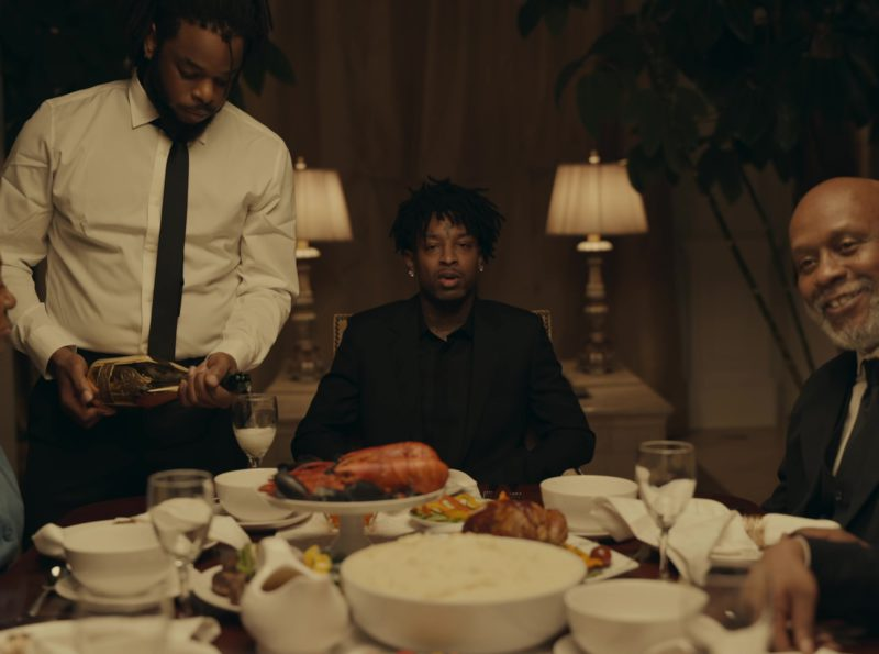 """Armand De Brignac Champagne Brut Gold in  """"A Lot"""" by 21 Savage ft. J. Cole (2019) - Official Music Video Product Placement"""