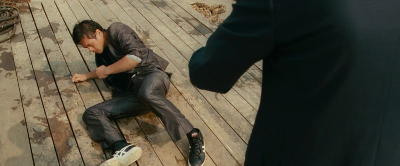 Asics Sneakers Worn by Williams Belle in Johnny English Reborn (2011) Movie Product Placement