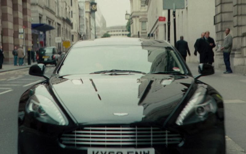 Aston Martin Rapide Black Sports Car in Johnny English Reborn (1)