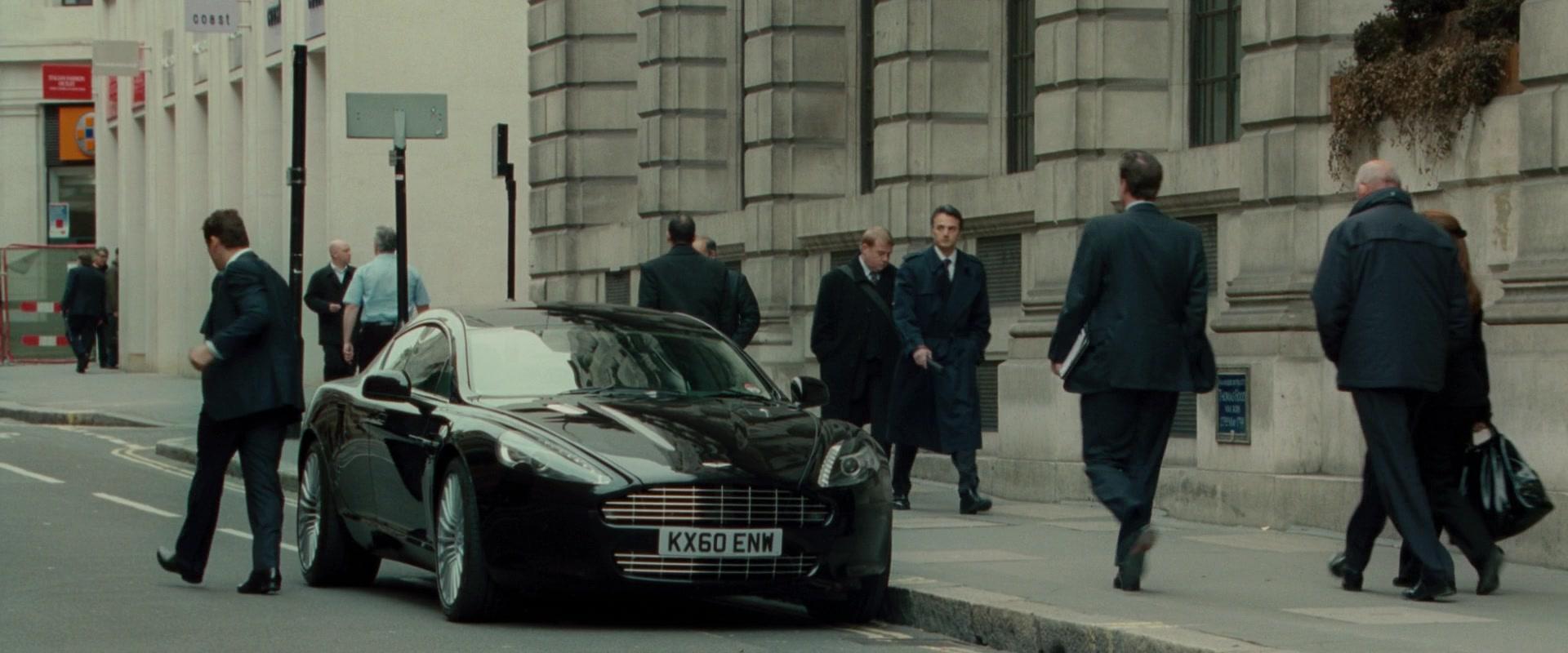Aston Martin Rapide Black Sports Car In Johnny English Reborn 2011