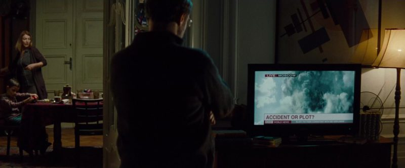 BBC TV Channel in Mission: Impossible – Ghost Protocol (2011) - Movie Product Placement
