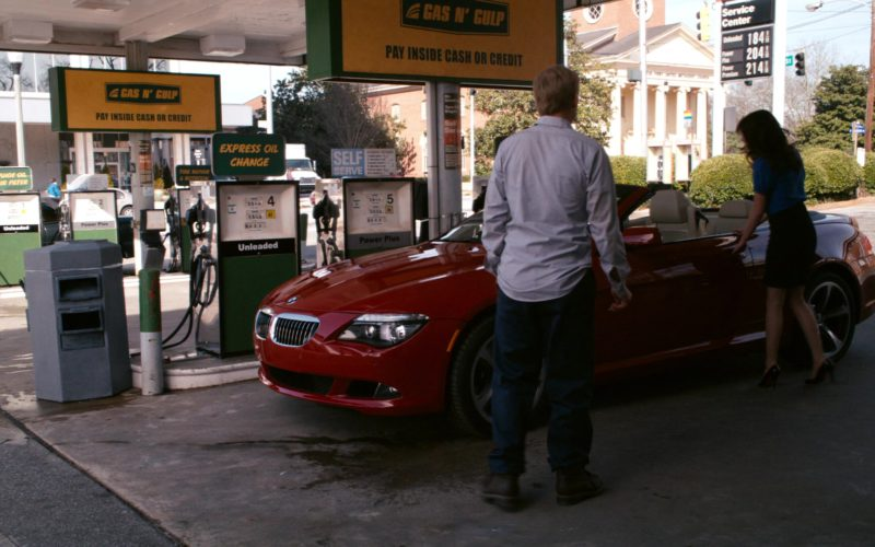 BMW 650i [E64] Red Convertible Car Driven by Emma Stone in Zombieland (3)