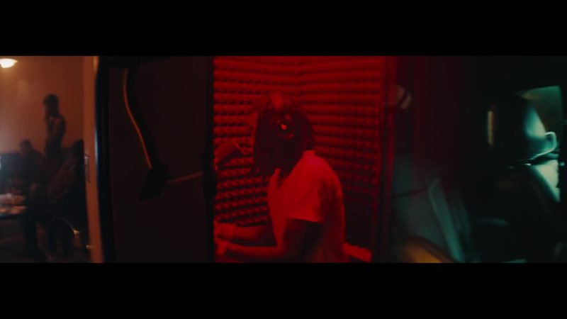 Beats Headphones in Red Room by Offset (2019) Official Music Video Product Placement