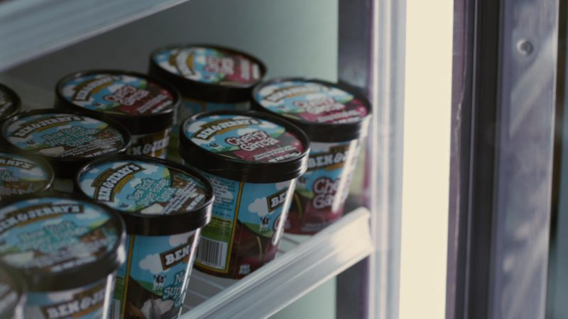 Ben&Jerry's Ice Cream in Young Adult (2011) - Movie Product Placement