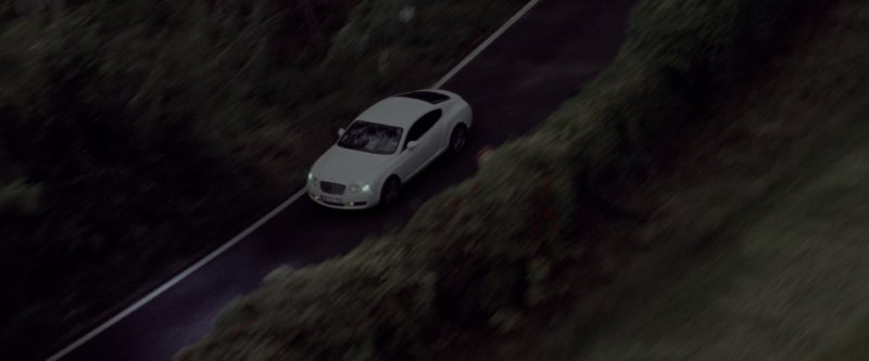 Bentley Continental GT White Car in G.I. Joe: The Rise of Cobra (2009) - Movie Product Placement
