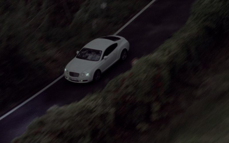 Bentley Continental GT White Car in G.I. Joe The Rise of Cobra (1)