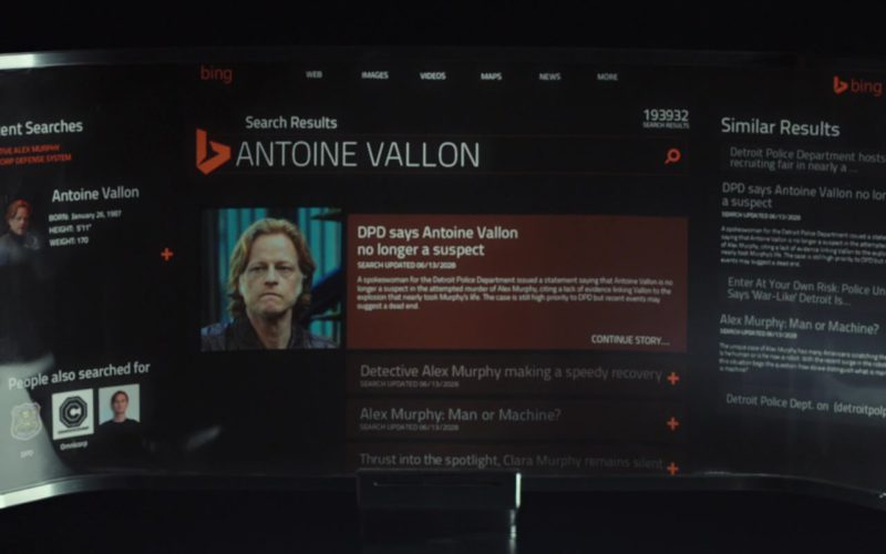 Bing Web Search Engine in RoboCop (1)