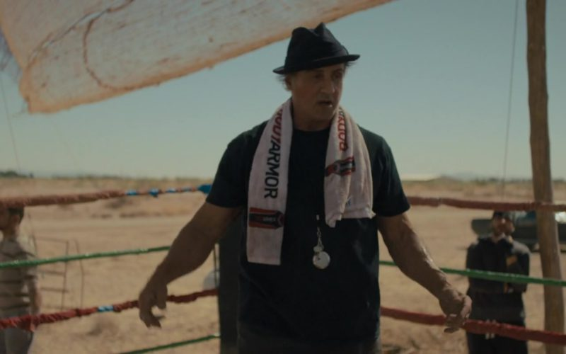 Bodyarmor SuperDrink Sports Drink Towel Used by Sylvester Stallone in Creed 2 (1)