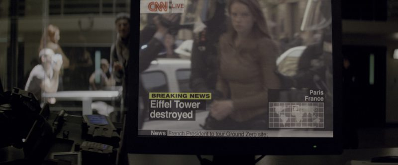 CNN TV Channel in G.I. Joe: The Rise of Cobra (2009) Movie Product Placement