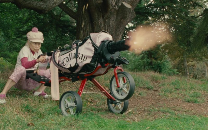 Callaway Golf Bag in Johnny English Reborn (1)
