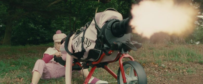 Callaway Golf Bag in Johnny English Reborn (2011) Movie Product Placement