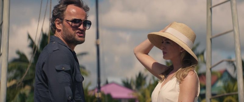 Carrera Sunglasses Worn by Jason Clarke in Serenity (2018) Movie Product Placement