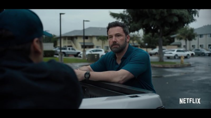 Casio G-Shock Watch Worn by Ben Affleck in Triple Frontier (2019) Movie Product Placement