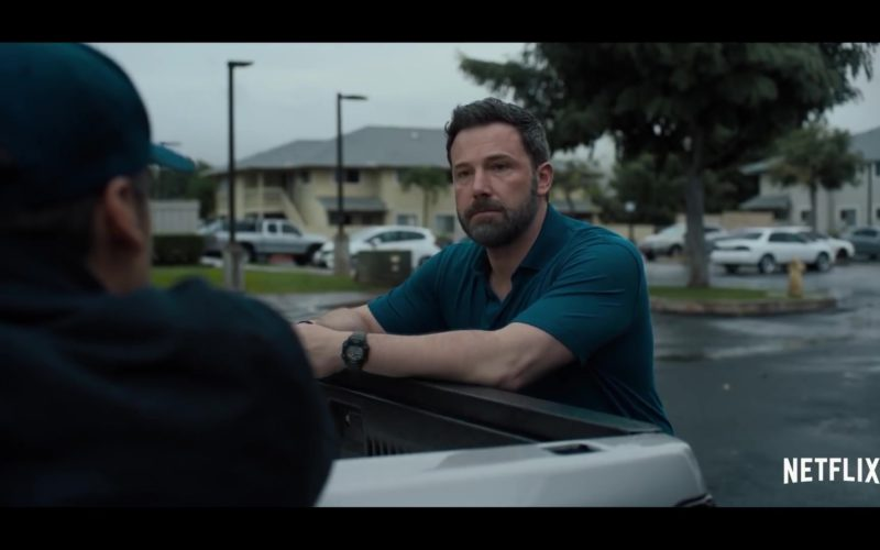 Casio G-Shock Watch Worn by Ben Affleck in Triple Frontier