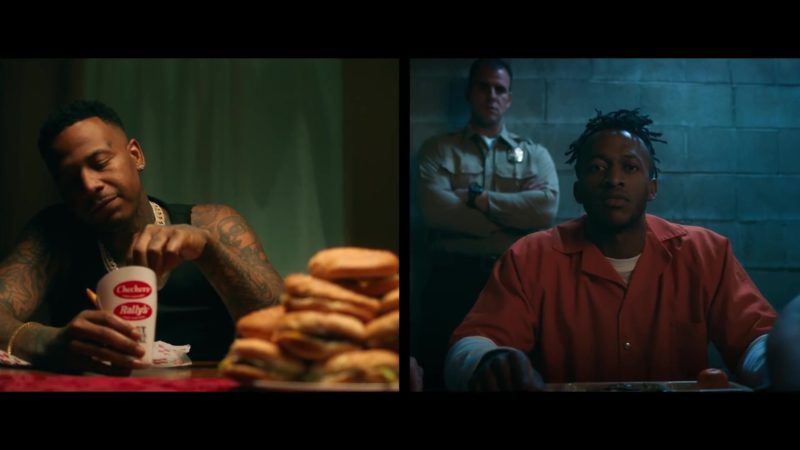 "Checkers and Rally's Drink and Fast Food in ""Lower Level"" by Moneybagg Yo ft. Kodak Black (2019) Official Music Video Product Placement"