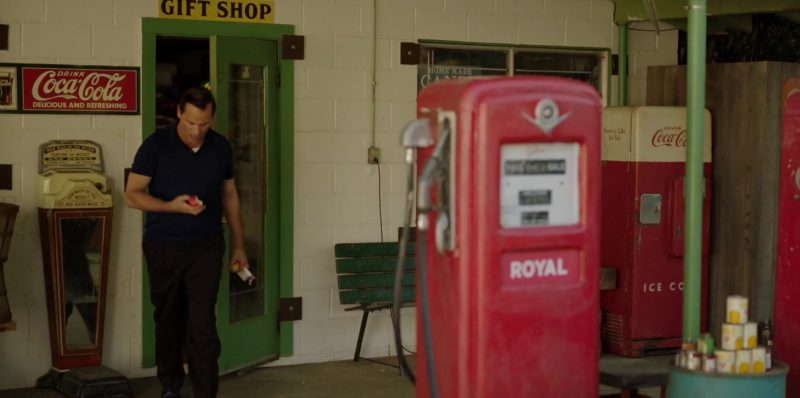Coca-Cola Sign and Vending Machine in Green Book (2018) Movie Product Placement