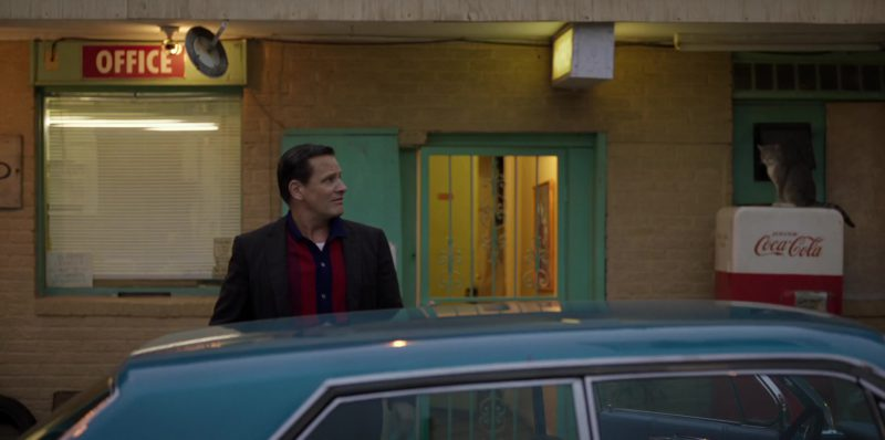 Coca-Cola Vending Machine in Green Book (2018) - Movie Product Placement