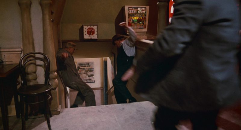 Coca-Cola Wall Clock in Who Framed Roger Rabbit (1988) - Movie Product Placement