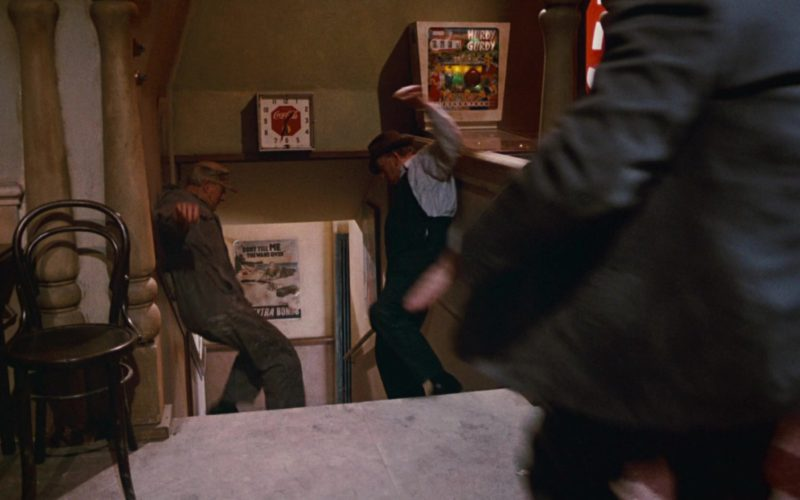 Coca-Cola Wall Clock in Who Framed Roger Rabbit