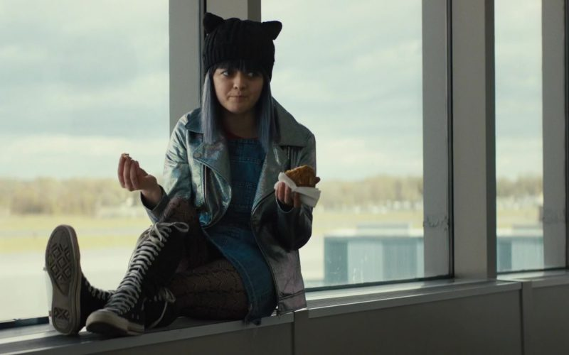 Converse Knee High Shoes Worn by Maisie Williams in Then Came You (7)