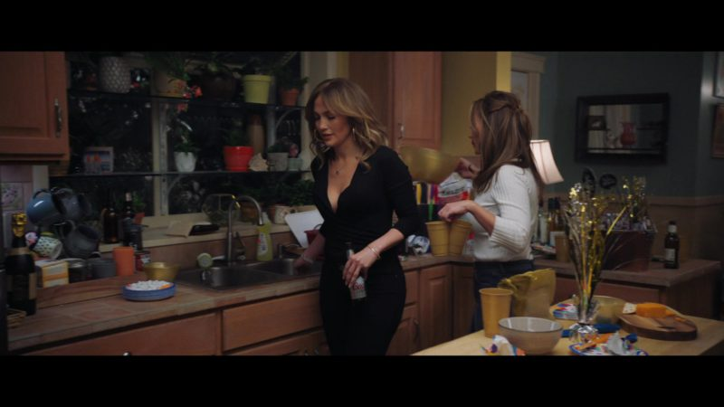 Coors Beer Bottle Held by Jennifer Lopez in Second Act (2018) Movie Product Placement