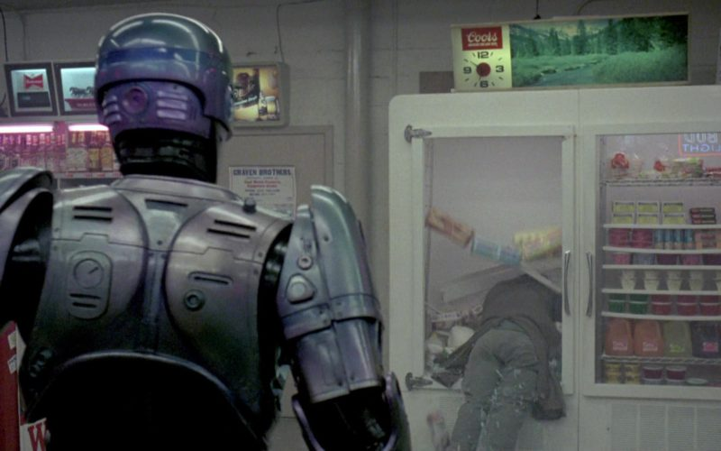 Coors Beer Clock in RoboCop