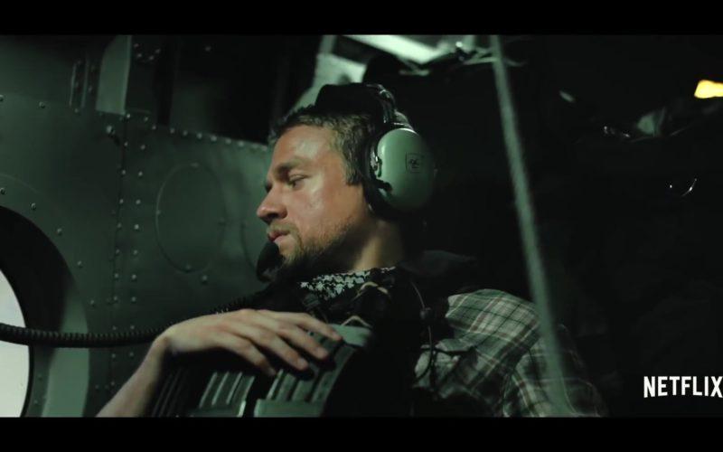 David Clark Headset Used by Garrett Hedlund in Triple Frontier