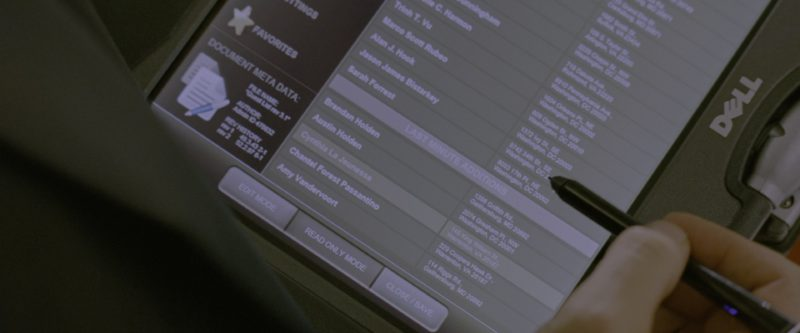 Dell 2-in-1 Tablet/Laptop Transformer in G.I. Joe: Retaliation (2013) Movie Product Placement