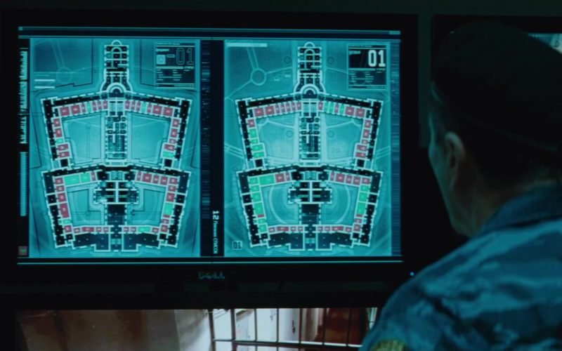 Dell Computer Monitor in Mission Impossible