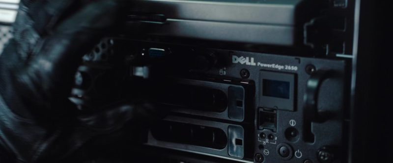 Dell PowerEdge 2650 Server in Mission: Impossible – Ghost Protocol (2011) - Movie Product Placement