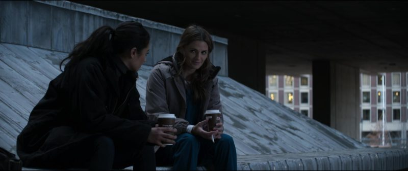 Dunkin' Donuts Coffee in The Possession of Hannah Grace (2018) - Movie Product Placement