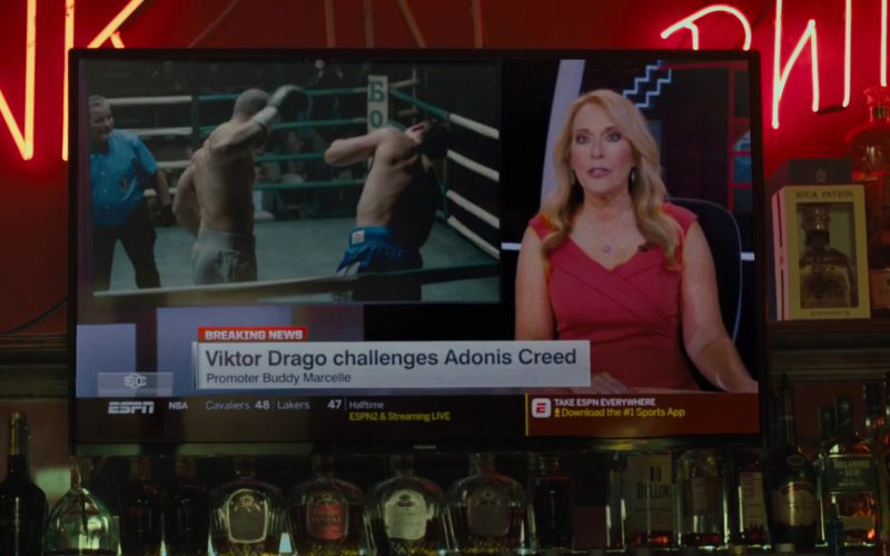 ESPN Channel x Toshiba TV in Creed 2 (1)