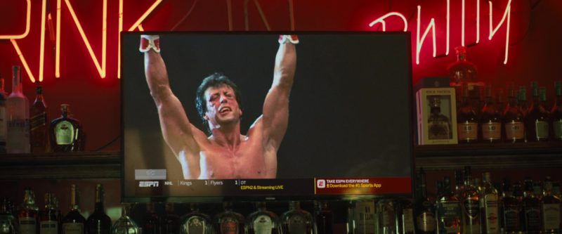 ESPN Channel x Toshiba TV in Creed 2 (2018) - Movie Product Placement