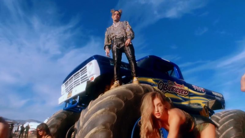 "Eric Swanson Obsession Racing Monster Truck in ""Racks on Racks"" by Lil Pump (2019) - Official Music Video Product Placement"