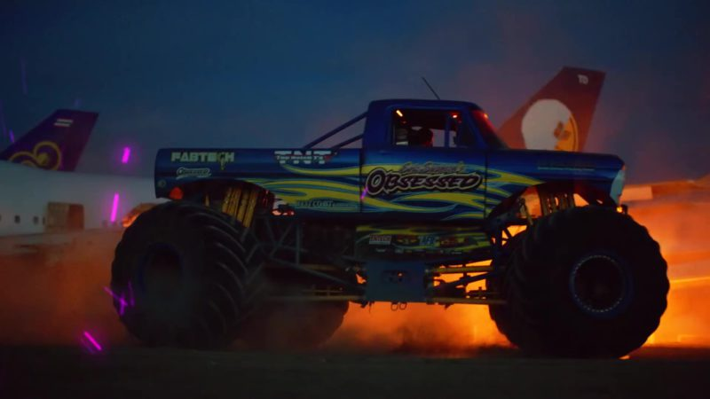 "Eric Swanson Obsession Racing Monster Truck in ""Racks on Racks"" by Lil Pump (2019) Official Music Video Product Placement"