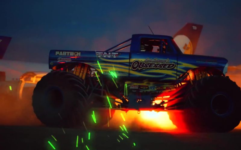 """Eric Swanson Obsession Racing Monster Truck in """"Racks on Racks"""" by Lil Pump (5)"""