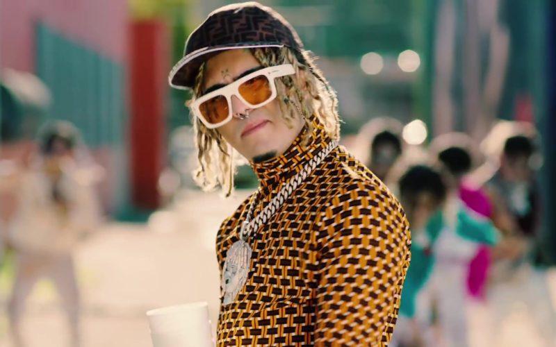 "Fendi Cap Worn by Lil Pump in ""Be Like Me"" (1)"