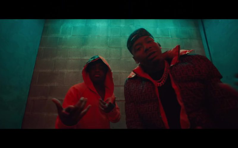 """Fendi Men's Jacket in """"Lower Level"""" by Moneybagg Yo ft. Kodak Black (1)"""