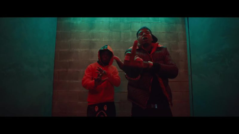 "Fendi Men's Jacket in ""Lower Level"" by Moneybagg Yo ft. Kodak Black (2019) Official Music Video Product Placement"