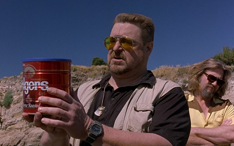 Folgers Coffee in The Big Lebowski (1)