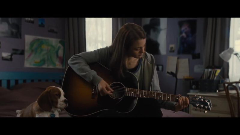 Gibson Guitars in A Dog's Journey (2019) Movie Product Placement