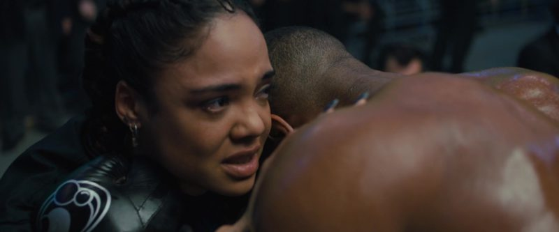 Grant Black Boxing Gloves Worn by Michael B. Jordan in Creed 2 (2018) - Movie Product Placement