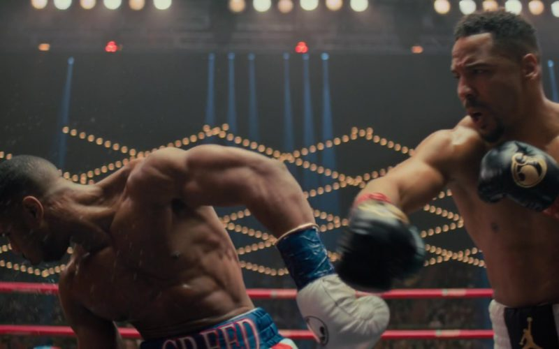 Grant Black Boxing Gloves in Creed 2