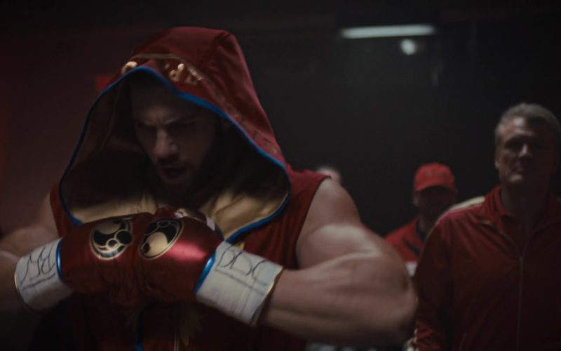 Grant Boxing Red Gloves Worn by Florian Munteanu in Creed 2 (1)