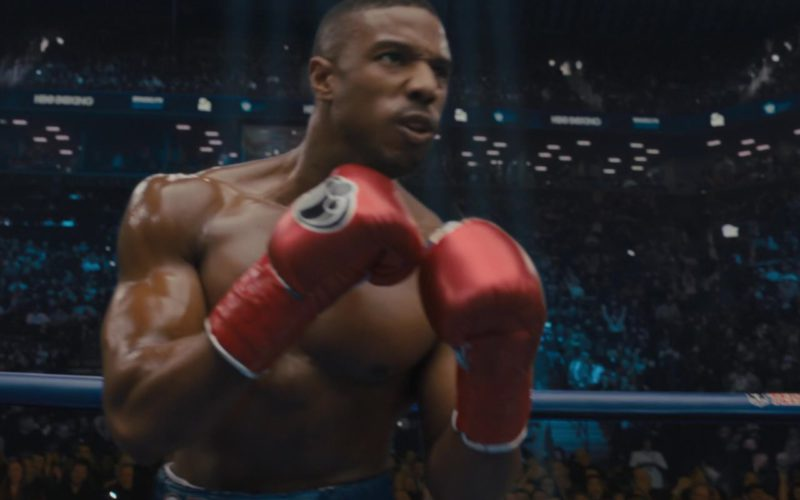 Grant Red Boxing Gloves Worn by Michael B. Jordan in Creed 2 (6)