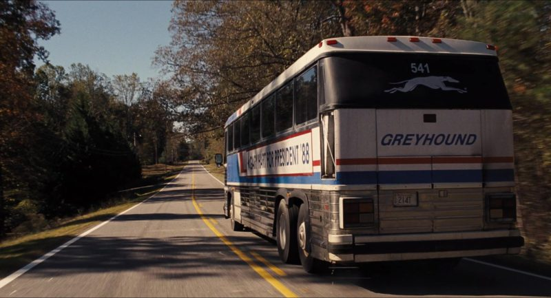 Greyhound Bus in The Front Runner (2018) - Movie Product Placement