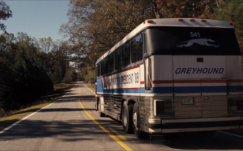 Greyhound Bus in The Front Runner