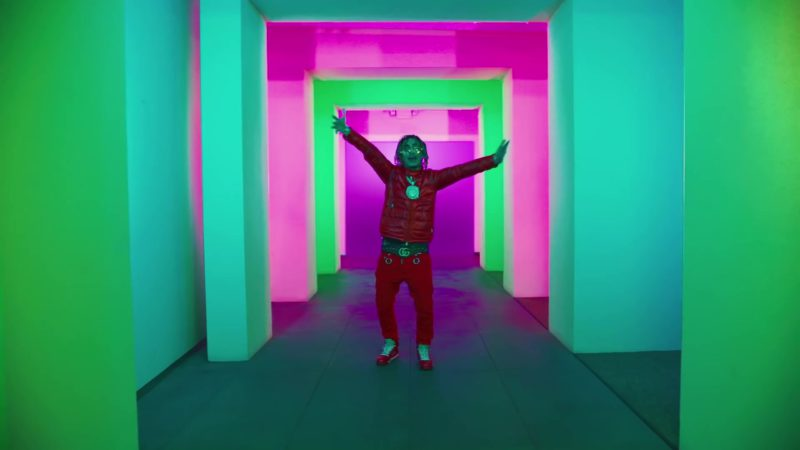 Gucci Belt Worn by Lil Pump in Be Like Me (2019) - Official Music Video Product Placement