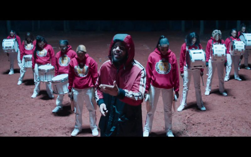 Gucci Hooded Jacket Worn by J. Cole in Middle Child (9)