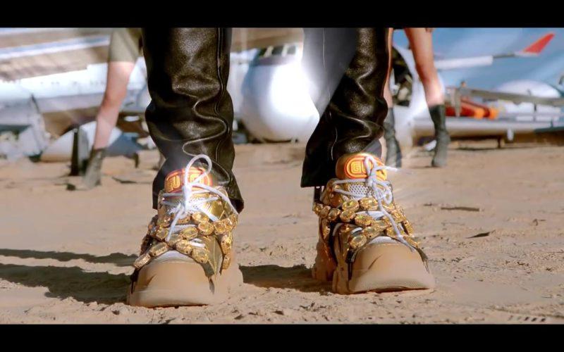 Gucci Sneakers Worn by Lil Pump in Racks on Racks (2)